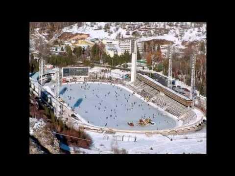 Медео - высокогорный каток. - Medeo - a high-mountain skating rink
