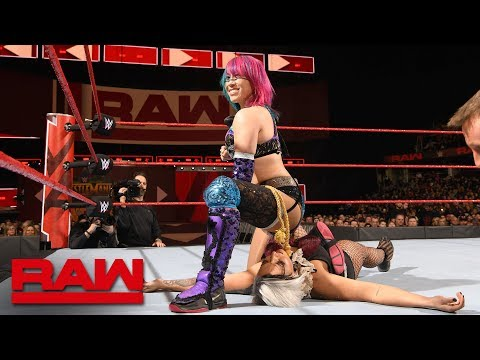 Asuka vs. Jamie Frost: Raw, March 26, 2018