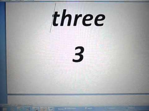 Angielski Dla Początkujący - Liczby 1-10