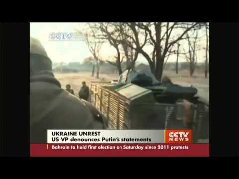 US Joe Biden criticizes Putin on eastern Ukraine