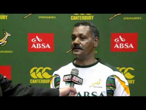 Springboks prepare for All Blacks in TriNations