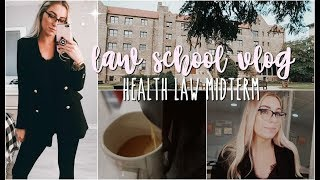 LAW SCHOOL MIDTERMS AND HOMEWORK | VLOG