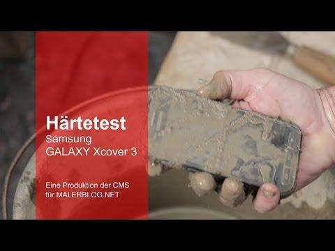 Review: Outdoor-Smartphone Samsung GALAXY Xcover 3 im Handwerker-Härtetest