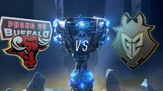 PVB vs G2 | Worlds Group Stage Day 2 | Phong Vu Buffalo vs G2 Esports (2018)