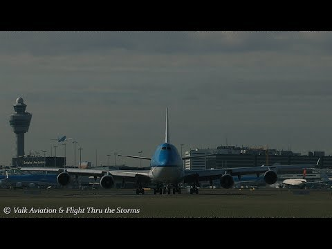 Very last flight @ KLM B747-Combi - 'PH BFC'