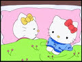 Hello Kitty - Cuidando Al Pajarito