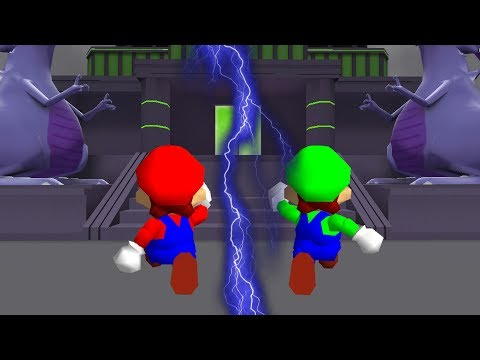 Super Mario 64 Bloopers: Mario Brothers to the Rescue!