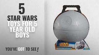 Top 10 Star Wars Toys For 5 Year Old Boys [2018]: Hot Wheels Star Wars Death Star Portable