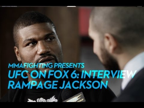 UFC on FOX 6: Rampage Jackson Tired of Negativity Surrounding UFC Finale