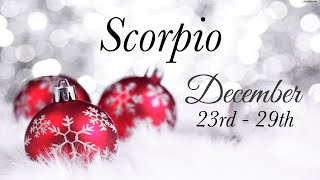 SCORPIO WEEKLY DEC 23rd - 29th | NEW LOVE ..TRUE LOVE - Scorpio Tarot Love Reading