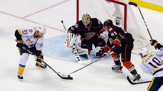Wilson's backhander ends Predators' PP woes against Ducks