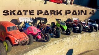 RC ADVENTURES- SKATE PARK PAIN 4 - KiNG OF THE RiNG - DiRT iS FOR WiMPS - Concrete LOOP