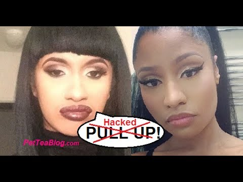 Cardi B tells Nicki Minaj to PULL UP & that she f***ed Drake 👀🐸☕️ She had to be #HACKED
