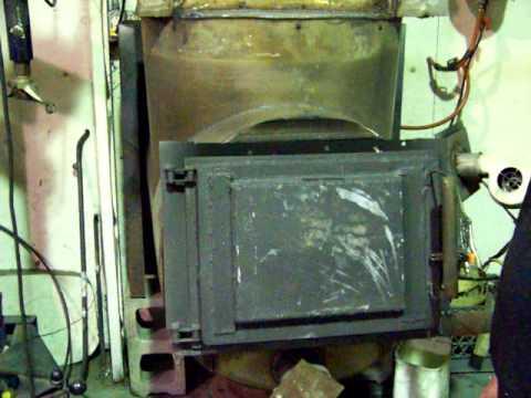 Simple waste oil burner 3