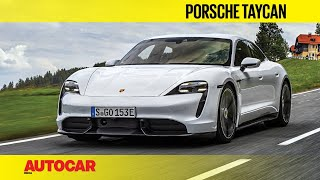 EXCLUSIVE: Porsche Taycan Review | First Drive | Autocar India