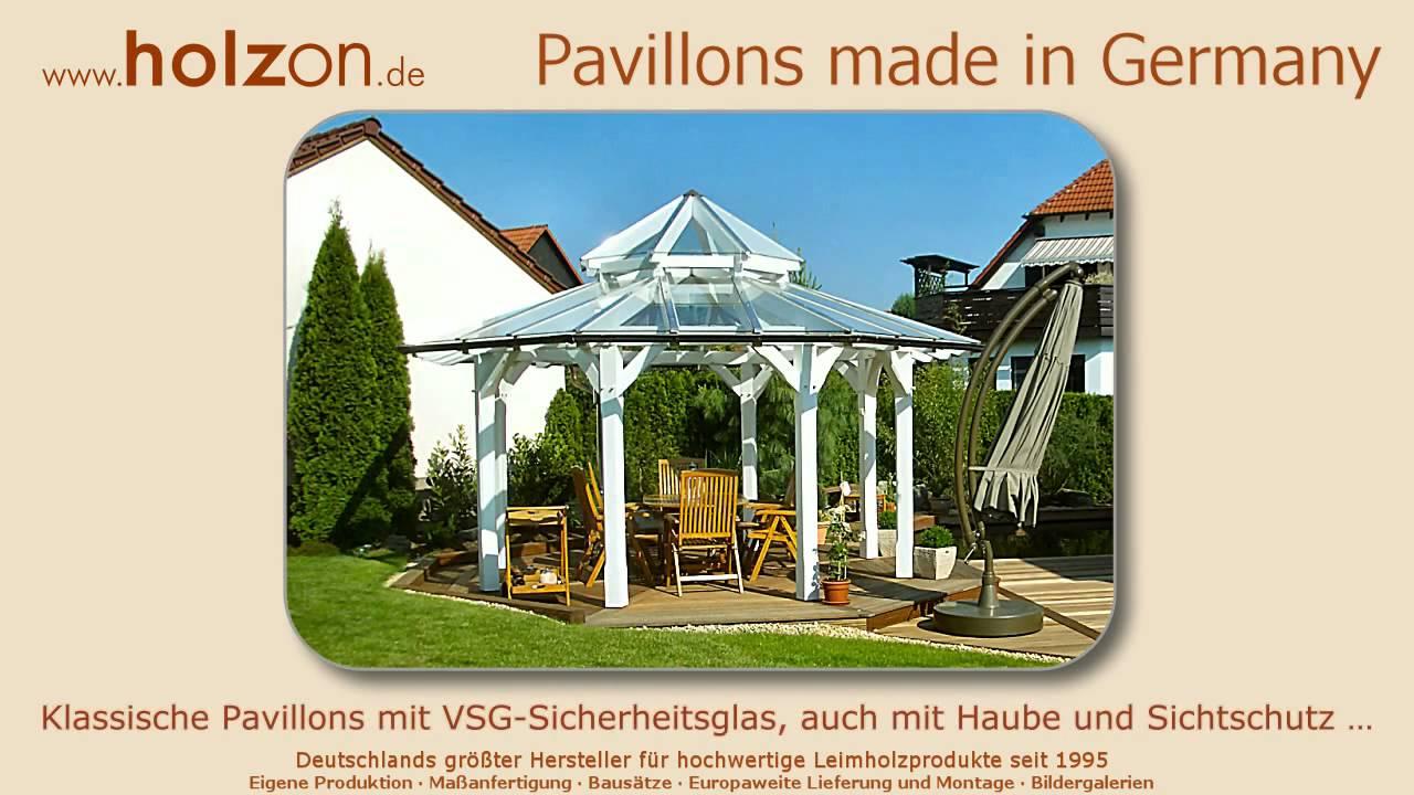pavillon aufbauen edle pavillon modelle von holzon nach wunschma youtube. Black Bedroom Furniture Sets. Home Design Ideas