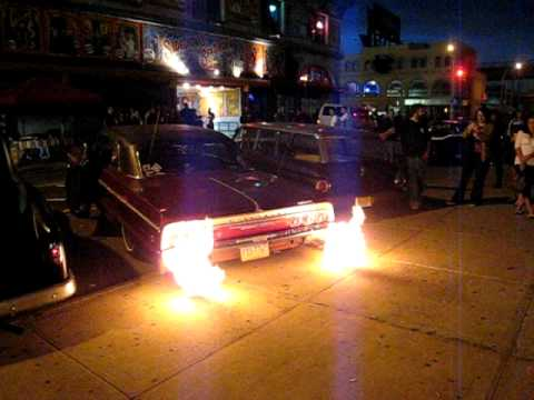 TEDS 64 IMPALA SS FLAME THROWER Video