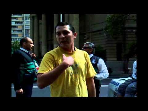 Agresion Ciber café - Lo que no se vió (Santiago de Chile)