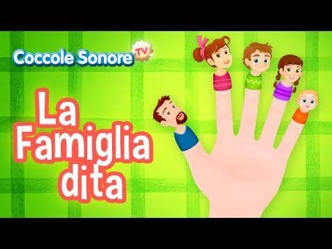 La Famiglia dita + more kids songs - Italian Songs for Children by Coccole Sonore