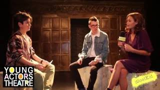 Asa Butterfield and Ella Purnell Interview at Young Actors Theatre Islington