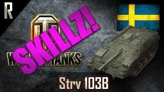 ► World of Tanks: Skillz - Learn from the best! Strv 103B [6 kills, 10670 dmg]