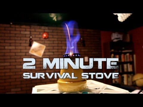 2 Minute Survival Stove