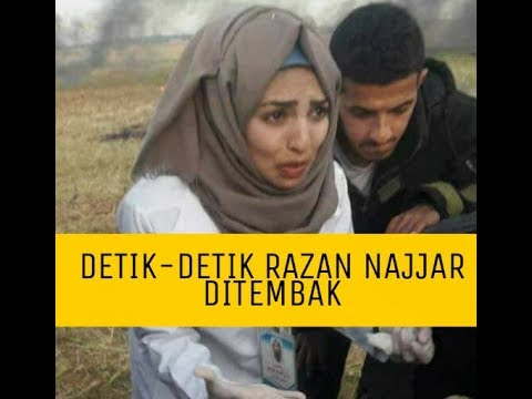 Detik-detik Razan najjar terkena tembakan