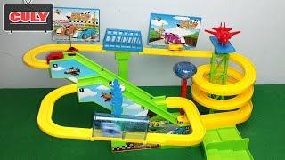 Đồ chơi đường ray đua xe siêu tốc lượn vòng play set high speed rail racing car toy for kid