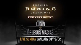 Lubin vs De Jesus Macias PREVIEW: Jan. 31, 2015 - PBC on Bounce