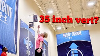 I Was In The NBA Draft Combine?!?!