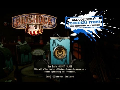 ALL BioShock Infinite FOUNDERS Pre Order &