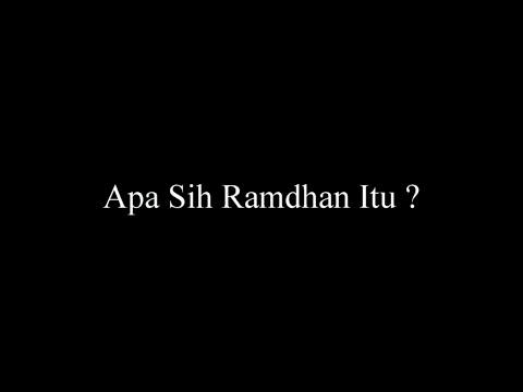 Makna Bulan Ramadhan