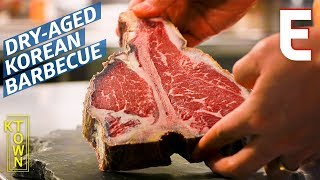 America's Only Michelin-Starred Korean Barbecue Has an In-House Dry Aging Room — K-Town