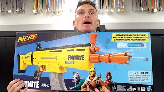 EPIC NERF FORTNITE BATTLE ROYALE & UNBOXING | Stephen Wonderboy Thompson Vlogs