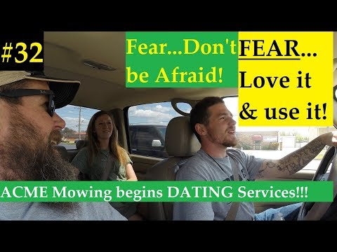 #32 Starting a Lawn Care Business-FEAR! Don't be AFRAID of FEAR! Also..Brooklyn..like the city in NY