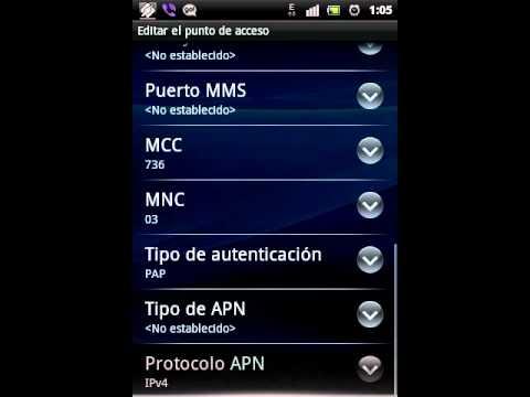 Configuración APN TIGO Bolivia 3G, EDGE.