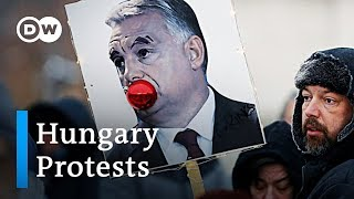 What the protests in Hungary are all about | DW News