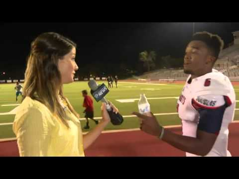 Apollos Hester - High School Football Player [Post-Game Interview] *Inspirational BUT FUNNY*