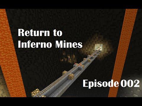 Ep 2 - Return to Inferno Mines - Diamond Armor and Tour