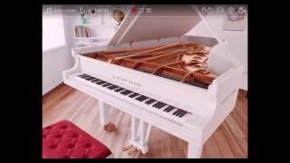 硝子の少年 KinKi Kids 動く鍵盤3Dピアノ