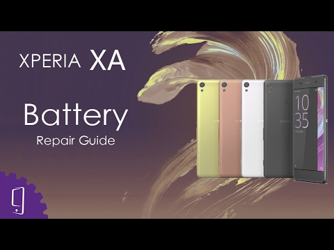 Sony Xperia XA Battery Repair Guide