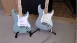 "Fender Stratocaster vs Chinese Strat Copy (""Rocktile"") - Are Cheap Guitars Any Good?"