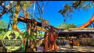The History of Tigris - Florida's Tallest Launch Coaster | Expedition Busch Gardens Tampa