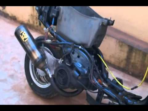 Yamaha Jog 90cc Yamaha Jog 4dm Motor Rebuild