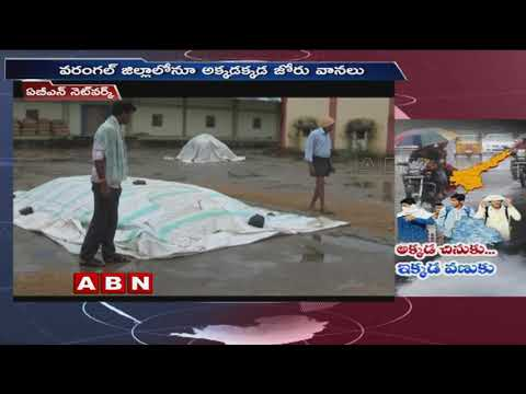 Pethai Cyclone Impact in Telangana, Brings Rainfall in various Places | ABN telugu