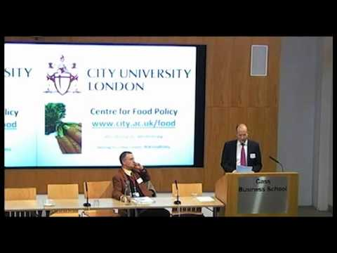 Introduction to the City Food Symposium 2011 and City University London
