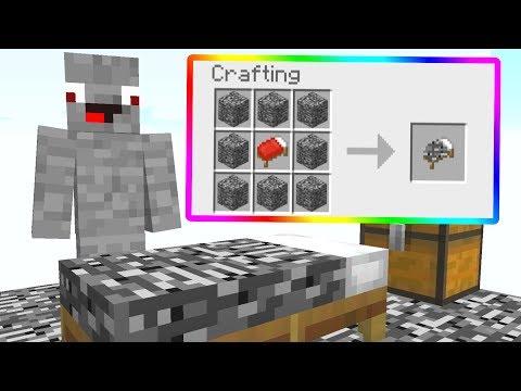 Ich Crafte das Bedrock Bett in Minecraft Lucky Block Bedwars