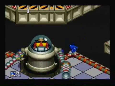 Let's play Sonic 3D Blast part 11 Panic Puppet Madness