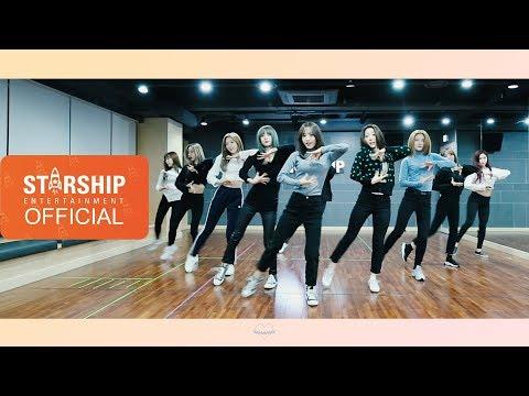 [Dance Practice] 우주소녀 (WJSN) - La La Love Moving Cam Ver.