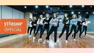Dance Practice 우주소녀 Wjsn La La Love Moving Cam Ver